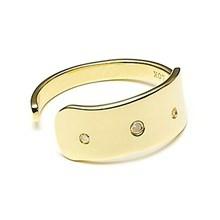 Louise Kragh 3 Raw Diamond Ring Guld