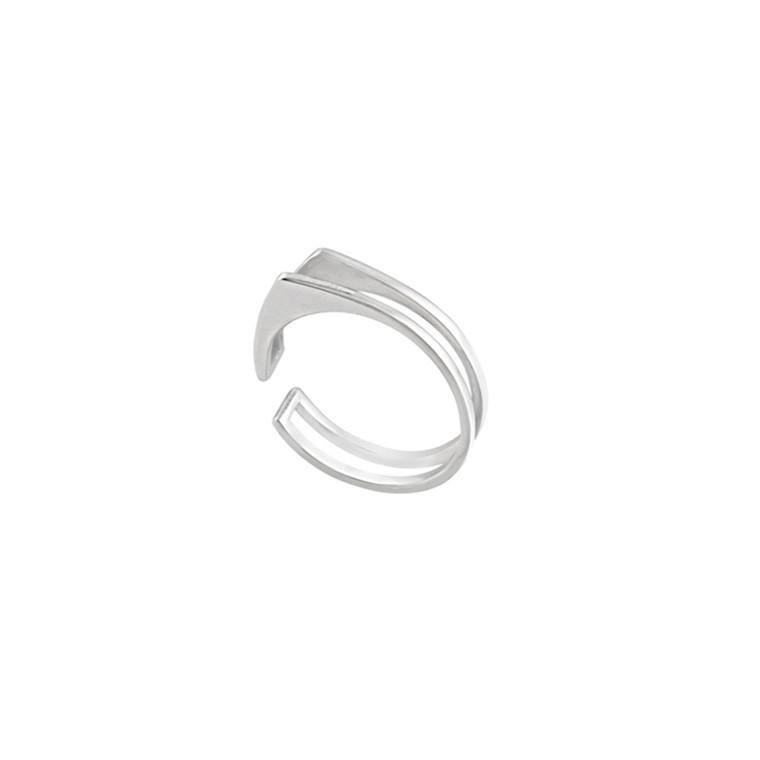 Louise Kragh Ring Triangle Sølv