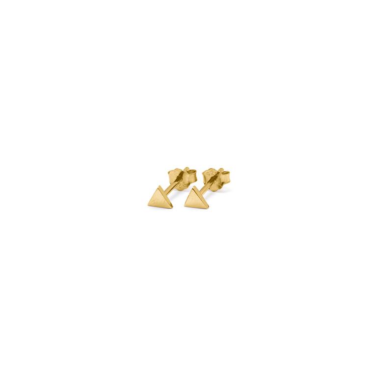 Louise Kragh Ørestikker Triangle Guld