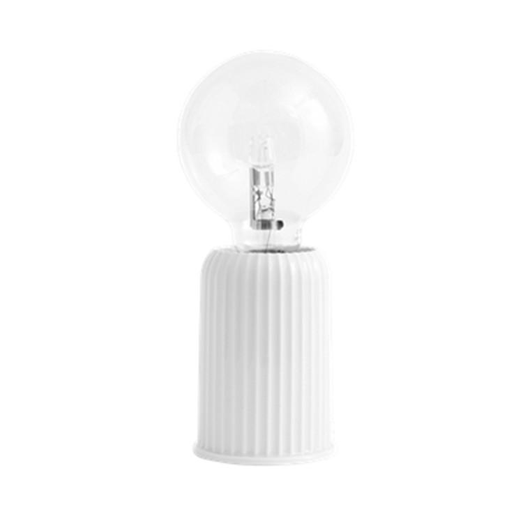 Lyngby Porcelæn Bordlampe LP 3, hvid