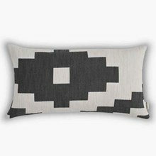New Works pude Ikat Black aflang