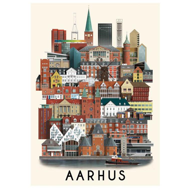 Martin Schwartz Aarhus Plakat