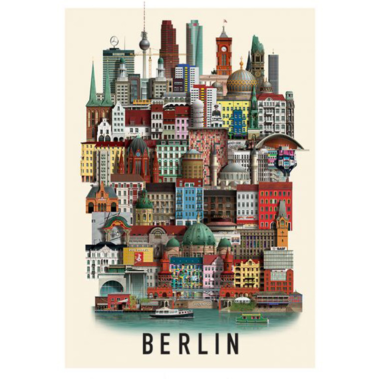 Martin Schwartz Berlin Plakat