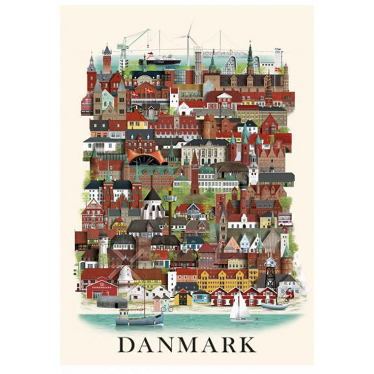 Martin Schwartz Danmark Plakat