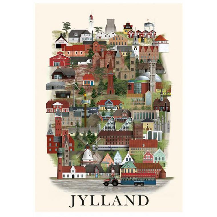 Martin Schwartz Jylland Plakat