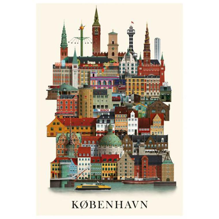 Martin Schwartz København Plakat