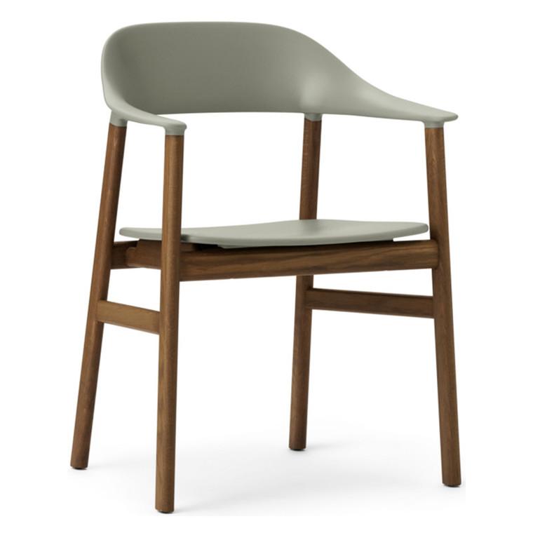Normann Copenhagen Herit Spisebordsstol Med Armlæn Røget Eg