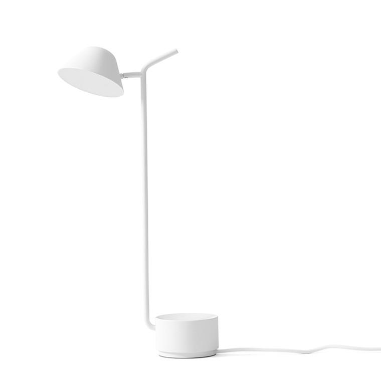 Menu Peek Bordlampe Hvid