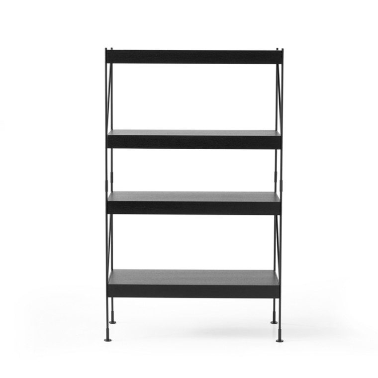 Menu Zet Shelves 1x4 Sort/Sort