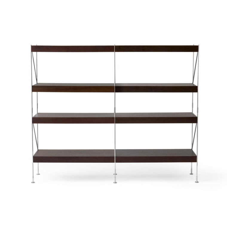 Menu Zet Shelves 2x4 Chrome/Smoked
