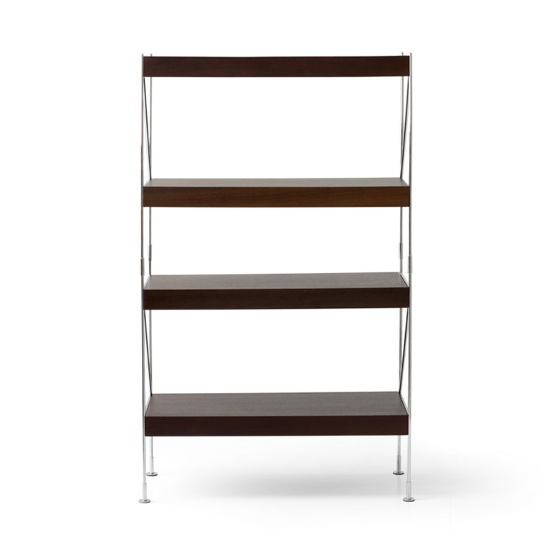 Menu Zet Shelves 1x4 Chrome/Smoked