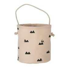 Ferm Living Mini Basket Rose Rabbit