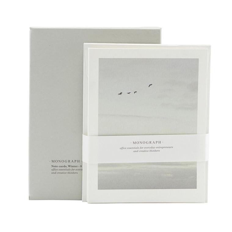 Monograph Notekort Year 8 stk m. konvolut
