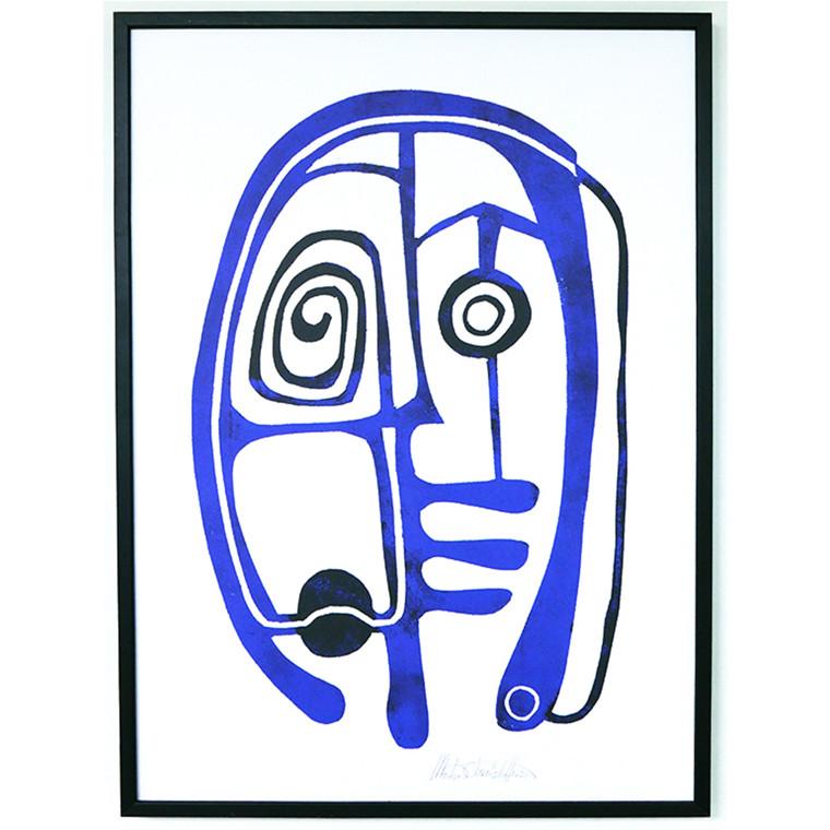 Morten Christoffersen Afrikansk Maske A2
