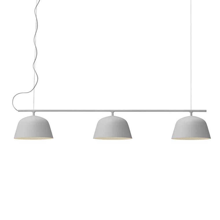 Muuto Lampe Ambit Rail Grå