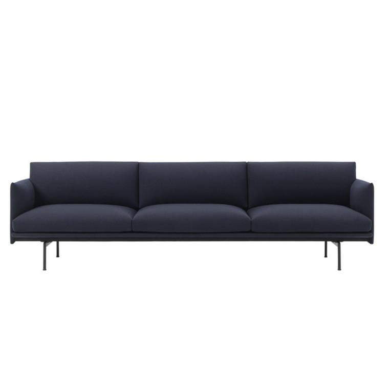 Muuto Outline Sofa 3 1/2 Personer Vidar 554