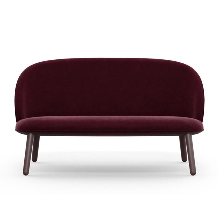 Normann Copenhagen Sofa Ace Mørk Rød Velour