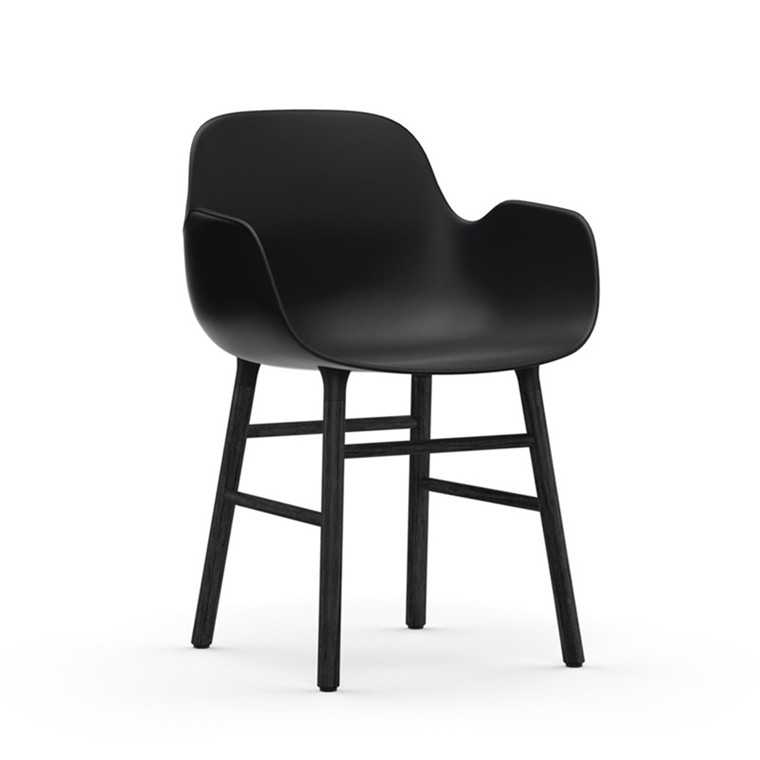 Normann Copenhagen Form Armchair Sort/Sort