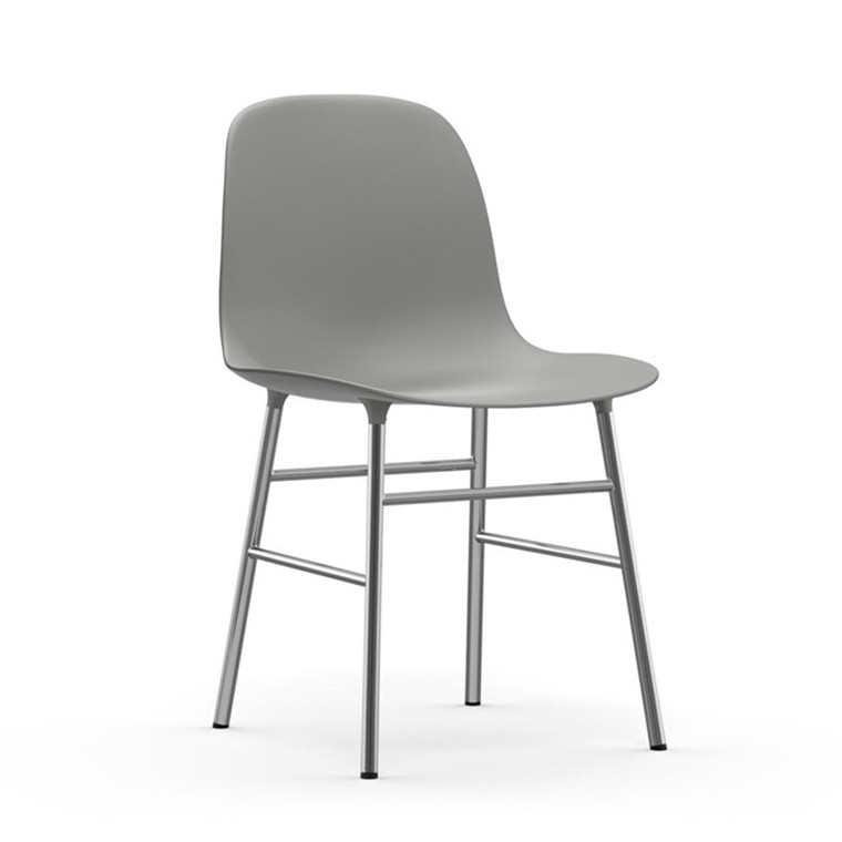 Normann Copenhagen Form Stol Grå/Chrome