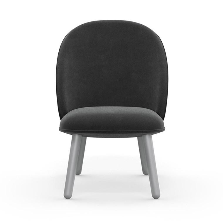 Normann Copenhagen Lounge Chair Ace Grå Velour