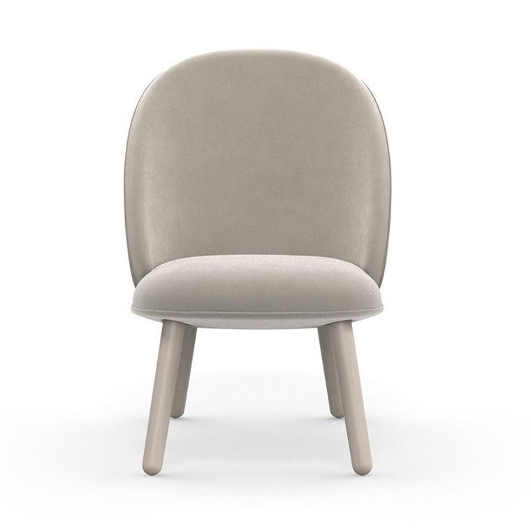 Normann Copenhagen Lounge Chair Ace Beige Velour