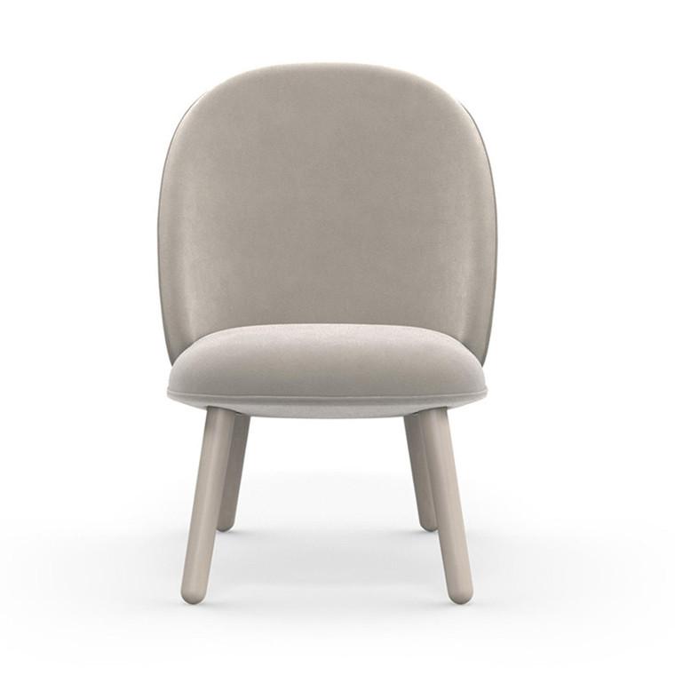 Normann Copenhagen Lounge Chair Ace Beige Velour