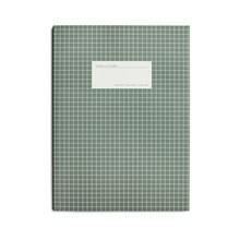 Kartotek Stor Notesbog Grøn