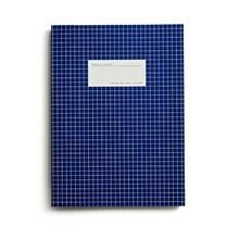 Kartotek Stor Notesbog Mørkeblå