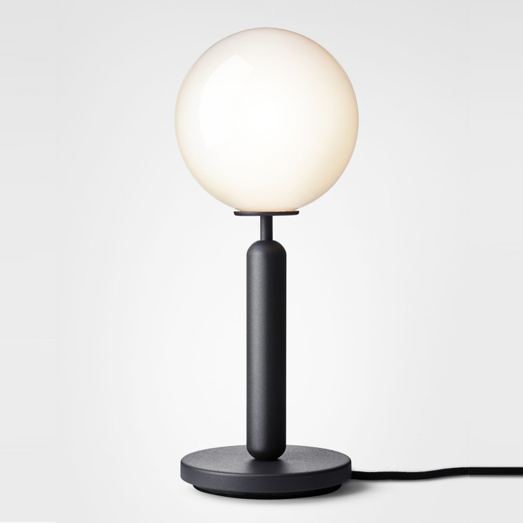 Nuura Miira Bordlampe Rock Grey/Opal Hvid