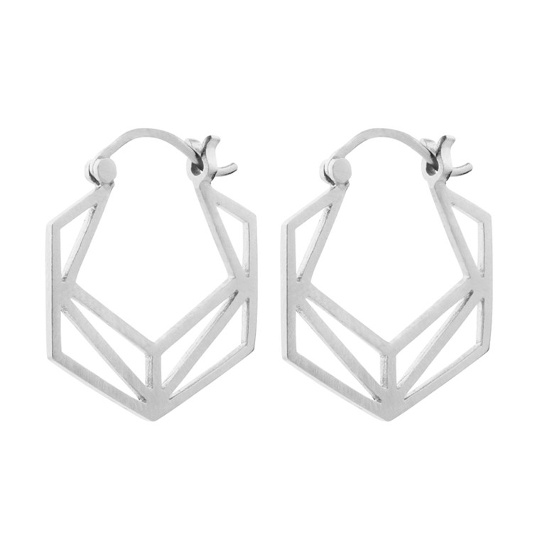 Pernille Corydon Icon Earrings Sølv