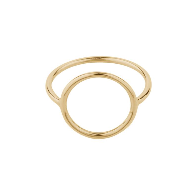 Pernille Corydon Halo Ring Forgyldt