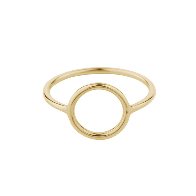 Pernille Corydon Halo Ring Small Forgyldt