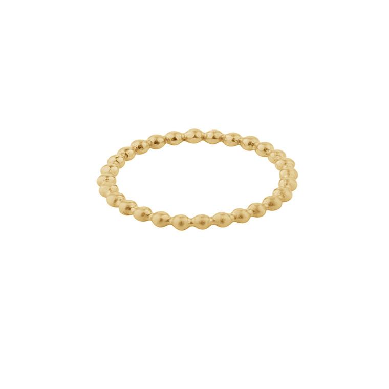 Pernille Corydon Pixel Ring Forgyldt