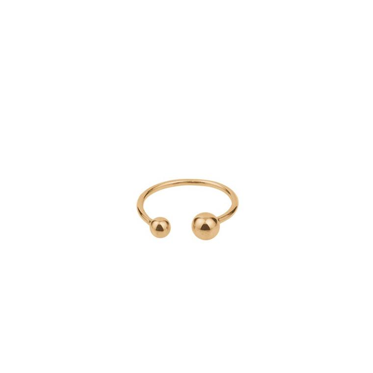Pernille Corydon Ring Pasodoble Forgyldt