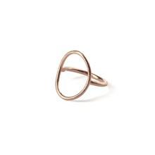 Pernille Corydon Oval Plain Ring Rosa