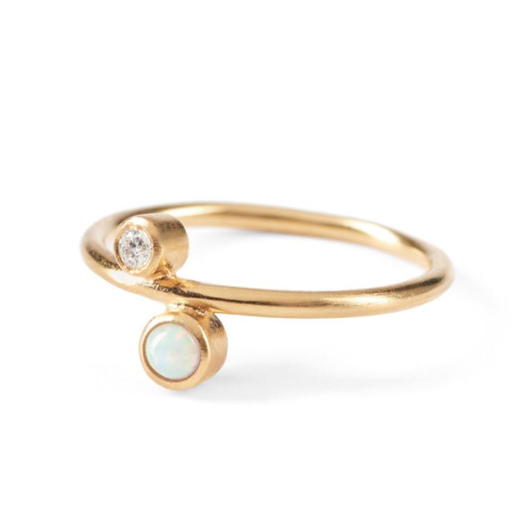 Pernille Corydon Ring Sirius Guld