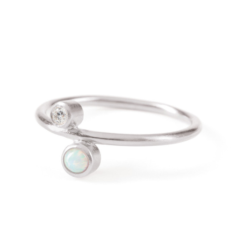 Pernille Corydon Ring Sirius Sølv
