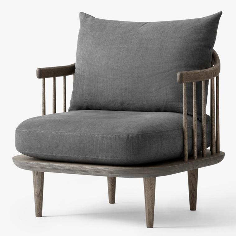 &tradition Fly Chair SC10 Loungestol Smoked/Hot Madison 093