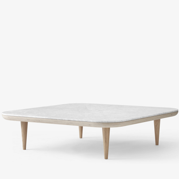 &tradition Fly Table SC11 Honed Bianco Carrara