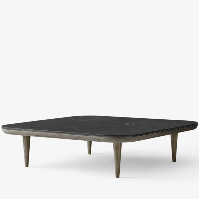&tradition Fly Table SC11 Sofabord Røget Eg Honed Nero Marquina