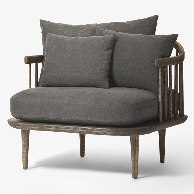 &tradition Fly Chair SC1 Loungestol Smoked/Hot Madison 093