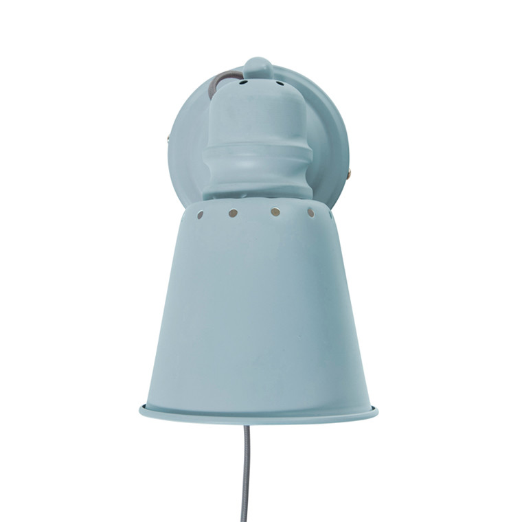 Sebra Væglampe Metal - Cloud Blue