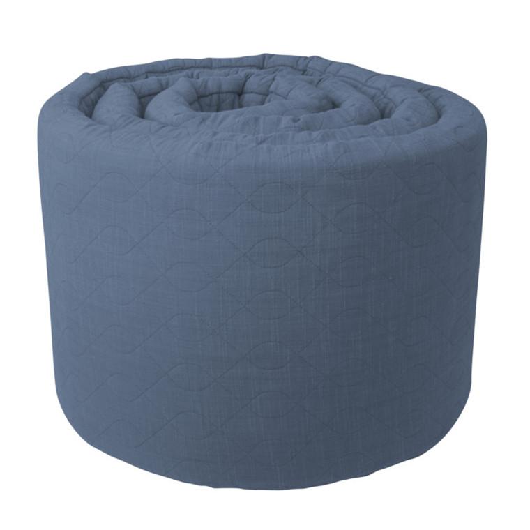 Sebra Quiltet Sengerand Royal Blue