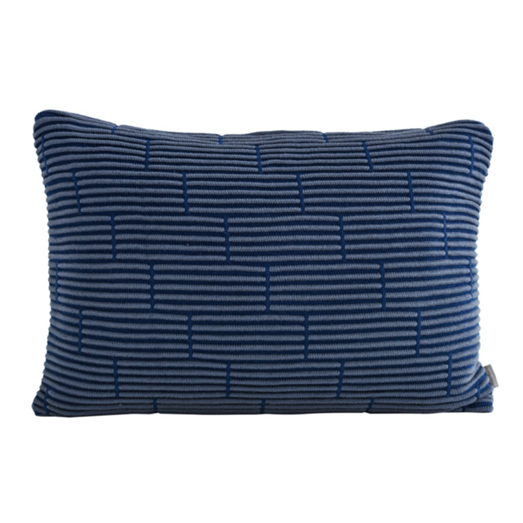 SemiBasic Brick Cushion Blue 40x60 cm