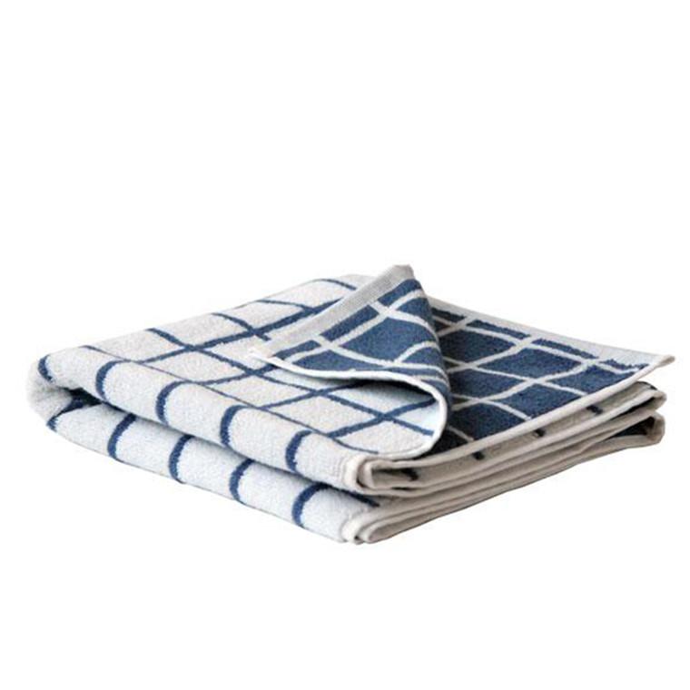 SemiBasic Håndklæde DIP jacquard Tiles