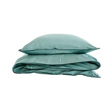 SemiBasic Sengetøj grøn med grøn kant