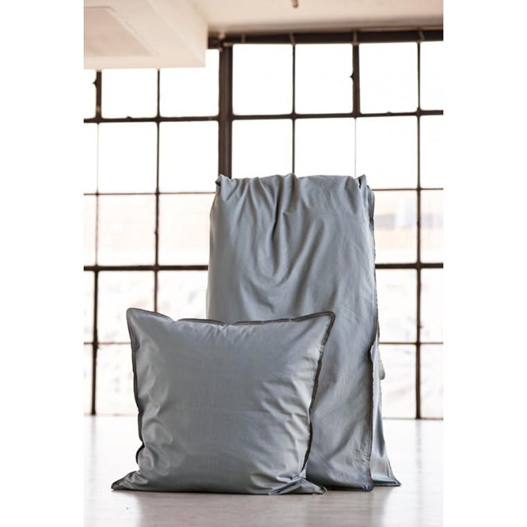 SemiBasic Sengetøj grå med grå kant