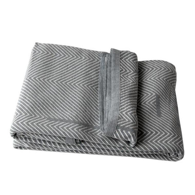 SemiBasic Sengetæppe Cover Kintsugi grå