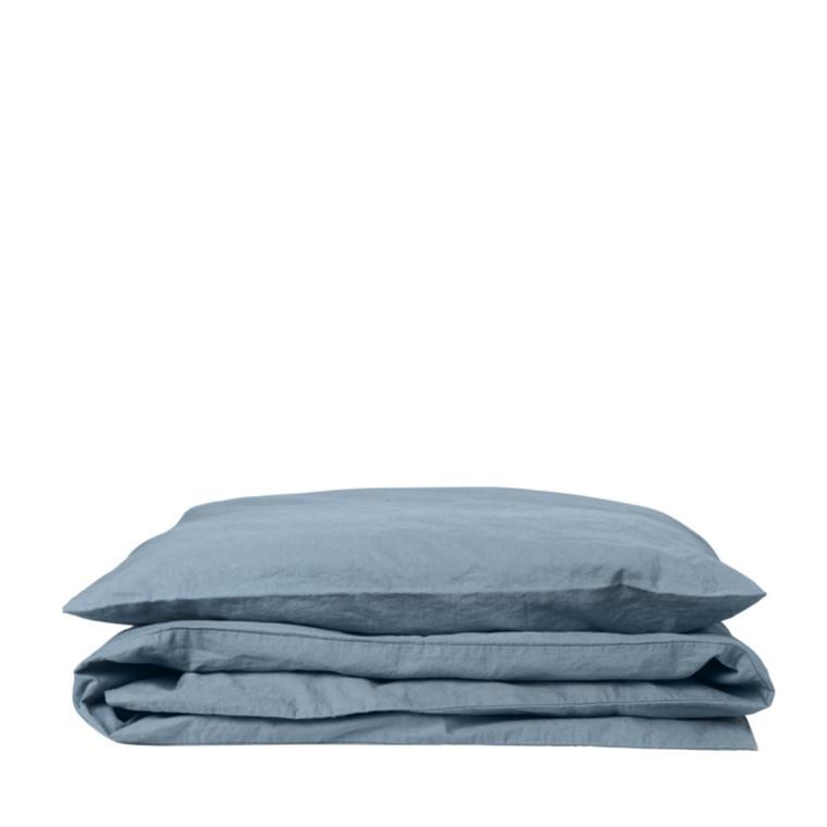 SemiBasic A Bed Linen Sengetøj Hør Denim Blå 140x200 cm.