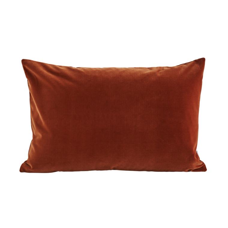 SemiBasic Lush velour Pude Amber 40x60 cm
